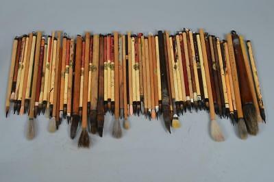R1554: Chinese Wooden WRITING BRUSH Bundle sale, auto Calligraphy tool.