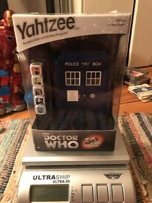 YAHTZEE Doctor Who 50th Anniversary Collector's Edition Tardis Read Description