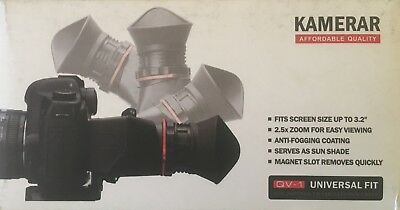 Kamerar QV-1 LCD Viewfinder View Finder for screen size up to 3.2""