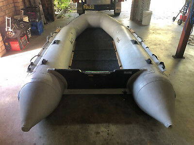3.3m Inflatable Boat With Outboard