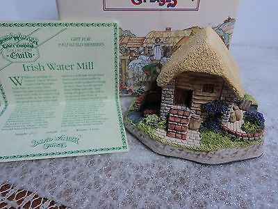 David Winter Irish Water Mill   W/ Box & COA