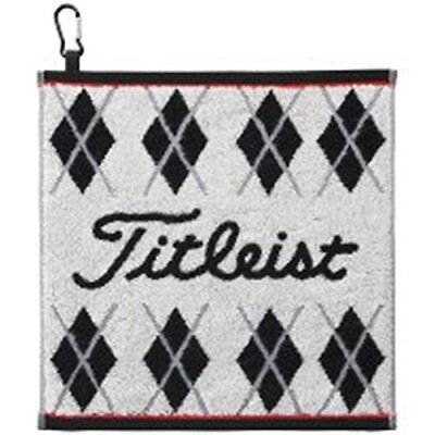 Titleist Golf Hand Towel with hook White AJTWH51 W From japan