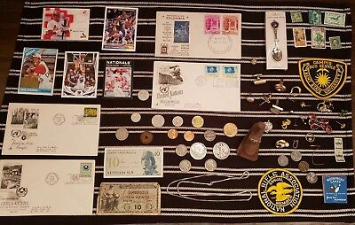 Junk Drawer Lot: Old U.S. Coins, Scrap Gold & Silver, Jewelry, Currency++