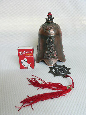 Collectable Hanging Brass Bell - Feng Shui Buddah
