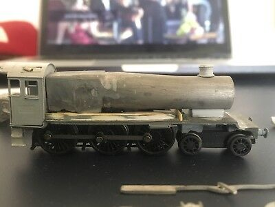 N Gauge GWR County Kit Dapol Hall Chassis DCC Fitted