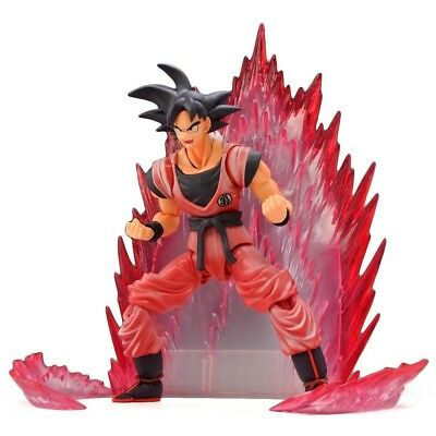 DRAGON BALL Z Goku Kaioken S.H. Figuarts Action Figure Exclusive Bandai Tamashii