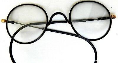 Old pair of Spectacles eye glasses in Case - Harry Potter Style