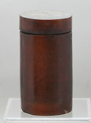 Extremely Rare Antique Opium Paste Container Made Of Buffalo Horn Circa 1700s