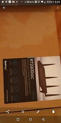 Synology RT2600ac 4-port Wireless Cable Router with USB