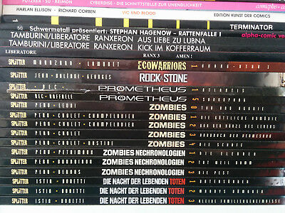 Zombies Band 0-4 komplett Splitter
