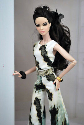 HABILISDOLLS jumpsuit dress clothes Fashion Royalty FR2 Poppy dolls or Barbie