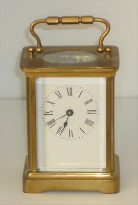 Antique 1907 Carriage Clock Fully Working