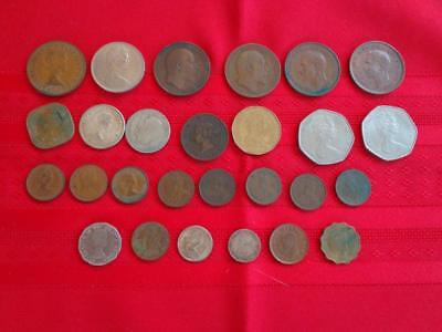 Vintage British Empire Coins (Lot of 27)