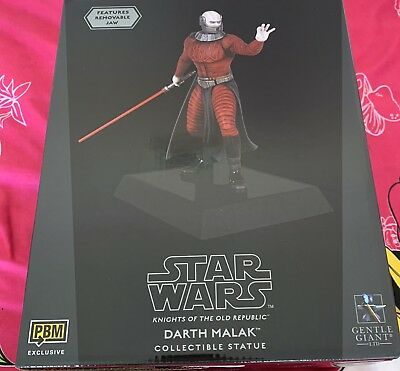 Gentle Giant Darth Malak Maquette Exclusiv Rar Selten Star Wars