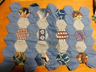 vintage patchwork 21 blocks ready to quilt package H