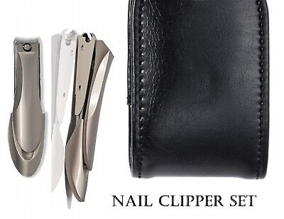 Nail Clipper set  for Thick Nails,Professional Nail Cutter with Catcher