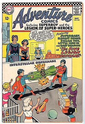 Adventure Comics #356 - Superboy & The Legion of Super-Heroes, Very Fine Cond