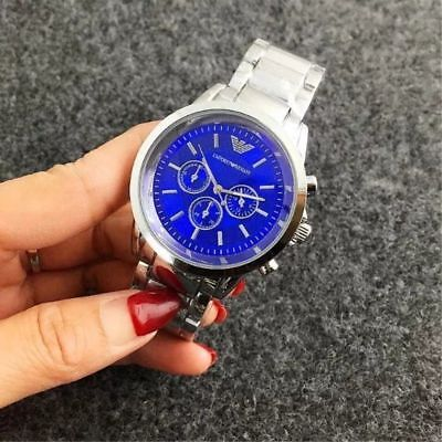 New Fashion Business men Luxury Quartz Stainless Steel Band Wristwatch Gift hot