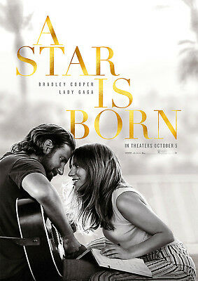 A Star is Born Poster new 2018 Movie Lady Gaga Cooper FREE P+P, CHOOSE YOUR SIZE