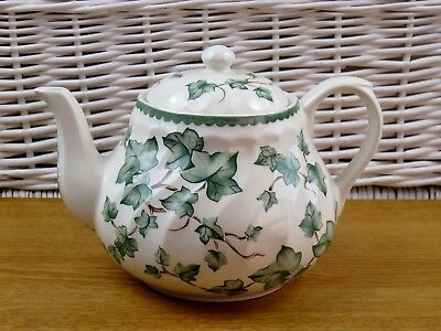 BHS Country Vine Tea Pot 2.25 Pints Approx British Homes Stores Country Vine