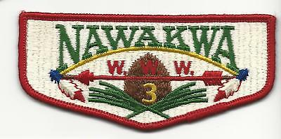 Nawakwa Lodge 3s4 Mint oldie! Nice! Crispy Mint! Pre-FDL/BSA!
