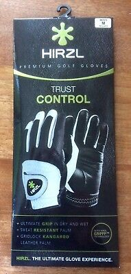 HIRZL TRUST CONTROL 2.0 Golfhandschuh, Men's left Medium, neu