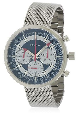 Bulova Archive Chronograph Stainless Steel Mens Watch 96K101
