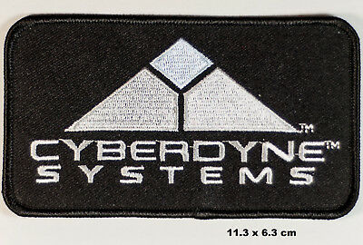 Terminator Cyberdyne Systems Logo Movie PROP Embroidered Patch Jacket Badge