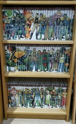 Judge dredd mega collection issues 1 to 90 ..complete set with book ends