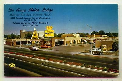 De Anga Motor Lodge US Route 66 Albuquerque NEW MEXICO *1970*