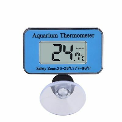 LCD Digital Aquarium Thermometer for Fresh Salt Water Terrarium