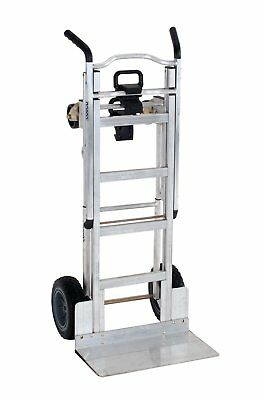 92237923a22 Heavy Duty Moving Dolly Aluminum Assisted Hand Truck Lift Flat Free Cart  Wheels
