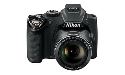 Nikon Coolpix P500 - Bridgekamera, 36x Optischer Zoom, 12,1MP, 7,5 Zoll