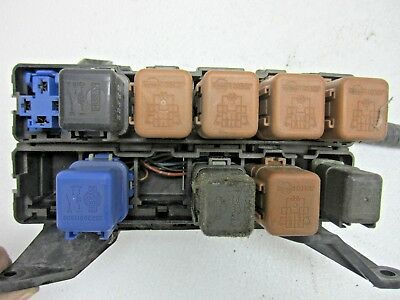 For 98 Altima Fuse Box Relay Switch Wire Harness Panel 2.4L Engine Motor A/C Rad