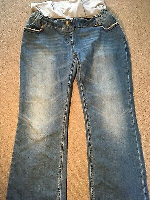 Maternity Jeans XL With Adjustable Waist