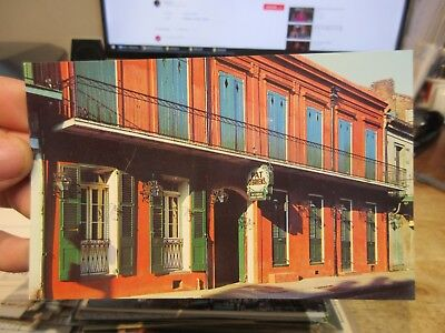 Vintage Old Postcard LOUISIANA New Orleans French Quarter Pat O'Brien's St Peter