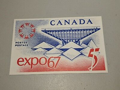 Stamp Pickers 1967 Canada Post Expo '67 Official Postcard Unused XF