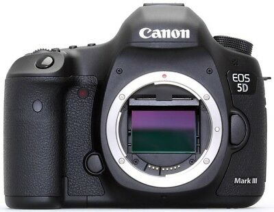 Canon EOS 5D Mark III 22.3MP Digital SLR Camera - Black (Body Only) Used