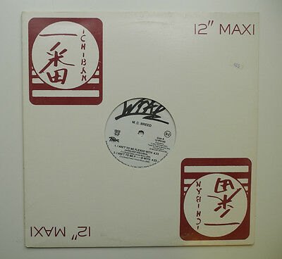 "12"" Us**mc Breed - I Ain't To Be Flexed With (Wrap Records '92 / Promo)***13490"