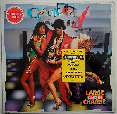 Lp Us**chunky A - Large And In Charge (Mca Records '89 / Arsenio Hall)**21745
