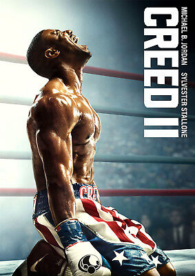 Creed 2 Poster, Creed II Rocky New 2018 Movie Jordan, FREE P+P, CHOOSE YOUR SIZE