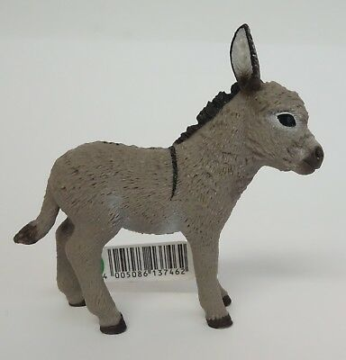 Schleich Donkey Foal Animal Toy Figurine 137462 Farm Life Christmas Nativity