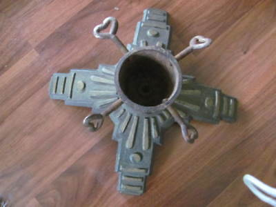 Art Deco Cast Iron Christmas Tree Stand Germany