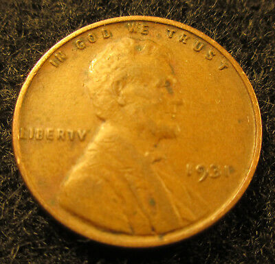 1931 Lincoln Wheat Cent-Penny        Solid Coin                    10211828