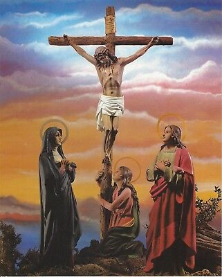 Lot of 100 Postcards Jesus Christ Crucifixion de Cristo Catholic Print Image