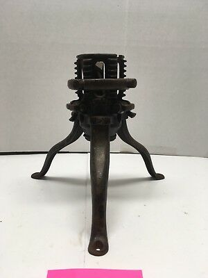 Vintage North Bros. Mfg Co. Phila Pa  Cast Iron Christmas  Tree Stand