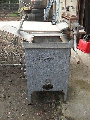 "Vintage Gas Hand Washing Machine ,with Folding "" Acme "" Wringer ."