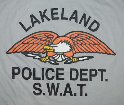 Lakeland Florida Police Department Special Weapons & Tactics SWAT Team Shirt -LG