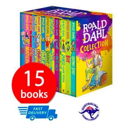 Roald Dahl Box Set Phizz Whizzing Collection 15 Books Brand New