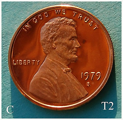 1979-S Type 2 Lincoln Memorial PROOF ~ T2 Cameo
